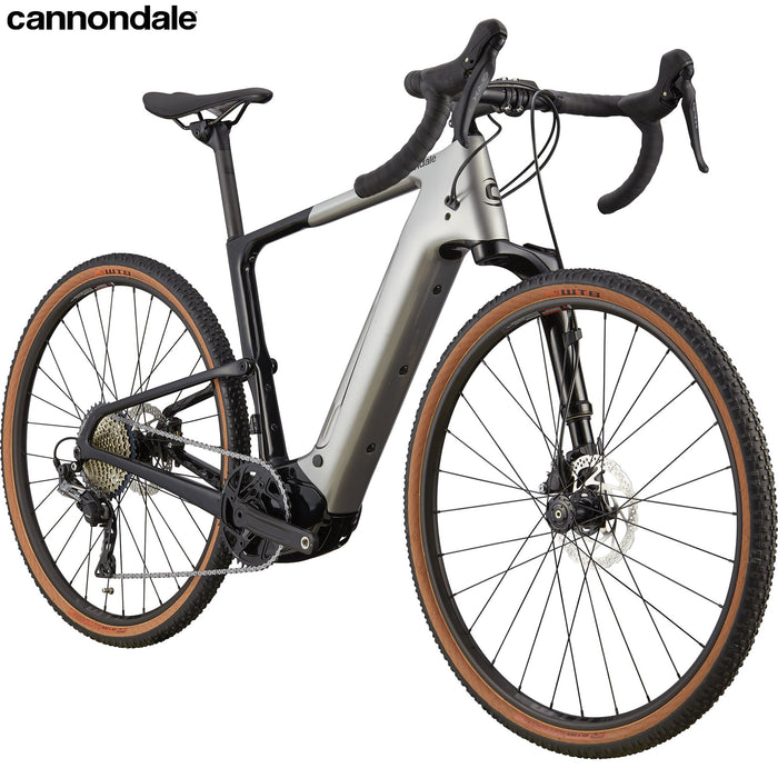 2021 Cannondale Topstone Neo Carbon 3 Lefty LG / 650 Grey | ABC Bikes