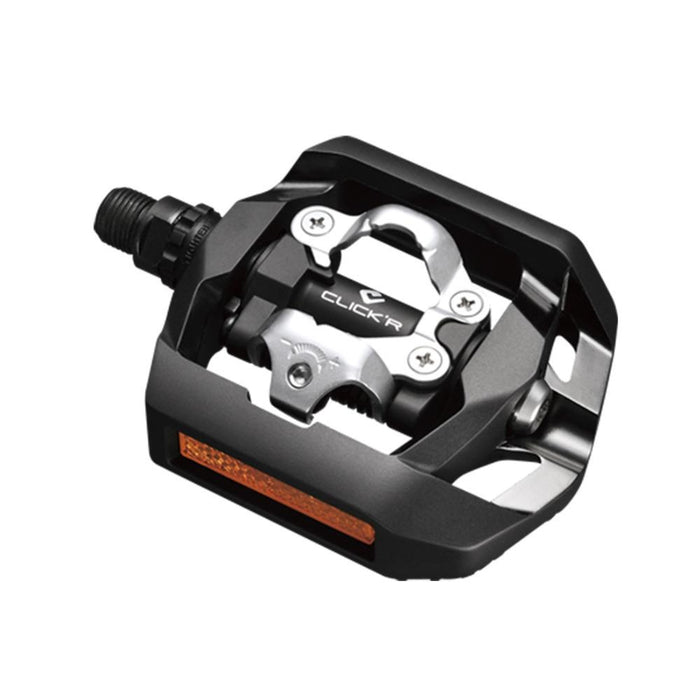 Shimano T421 ClickR SPD Touring Pedals Black | ABC Bikes