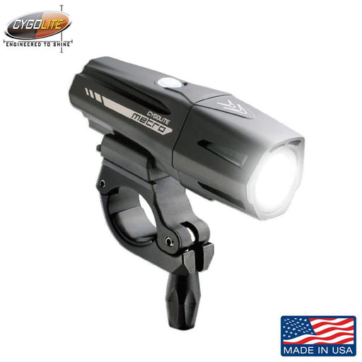 Cygolite Metro Plus 800 USB Front Light | ABC Bikes