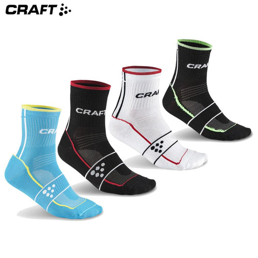 Craft Grand Tour Socks 34-36 Black/Bright Red | ABC Bikes