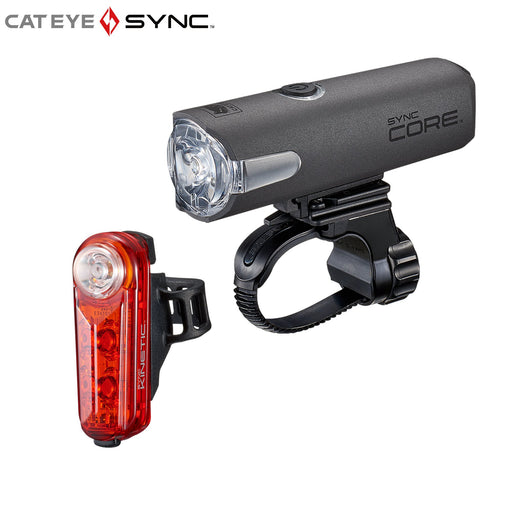 Cateye SYNC Core / Kinetic Lightset | ABC Bikes
