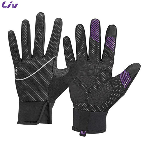 Liv Hearty Womens Winter Gloves SM Black | ABC Bikes