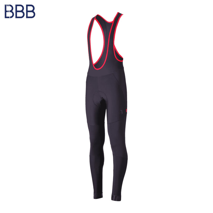 BBB WindBlock Bib Chamois Tights SM Black | ABC Bikes