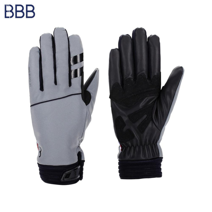 BBB Coldshield Reflective Winter Gloves XS Black | ABC Bikes