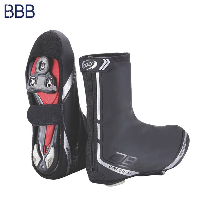 BBB Waterflex Shoecovers 37-38 Black | ABC Bikes