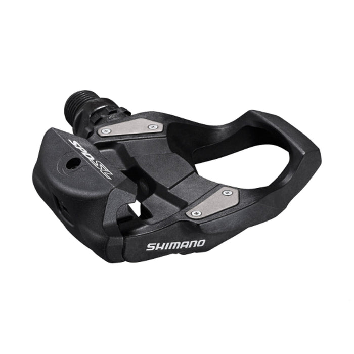 Shimano RS500 Light Action SPD-SL Road Pedals Black | ABC Bikes