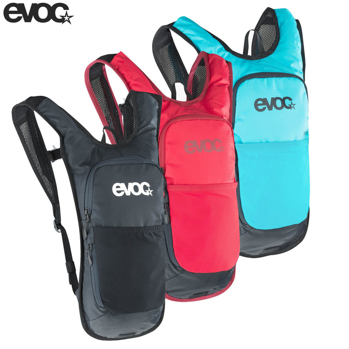 Evoc CC 2 + 2L Hydration Pack 2 Litre Black | ABC Bikes