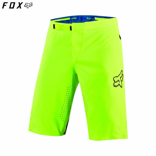 Fox Attack MTB Shorts - Fluro Yellow