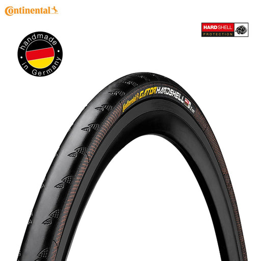 Continental Gator Hardshell Wirebead Road Tyre 700 x 23 Black | ABC Bikes