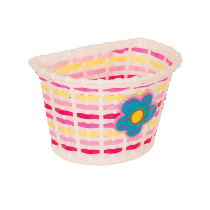 Pacific Kids Bitz Basket Pink/Yellow | ABC Bikes