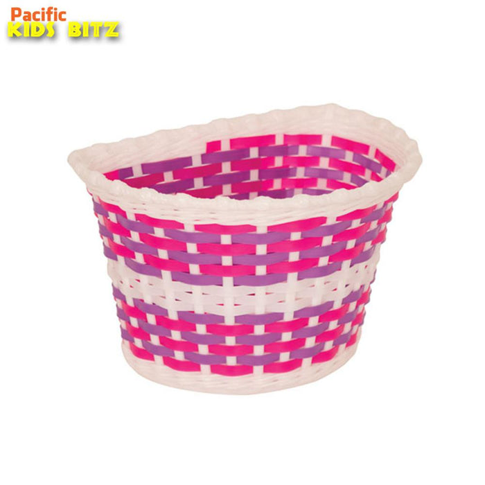 Pacific Kids Bitz Basket Pink/Purple | ABC Bikes
