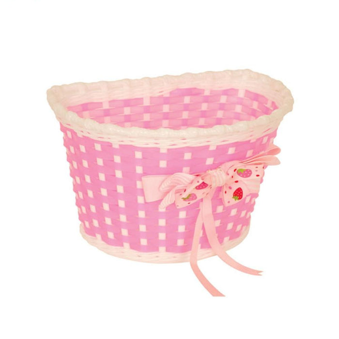 Pacific Kids Bitz Basket Pink/White | ABC Bikes