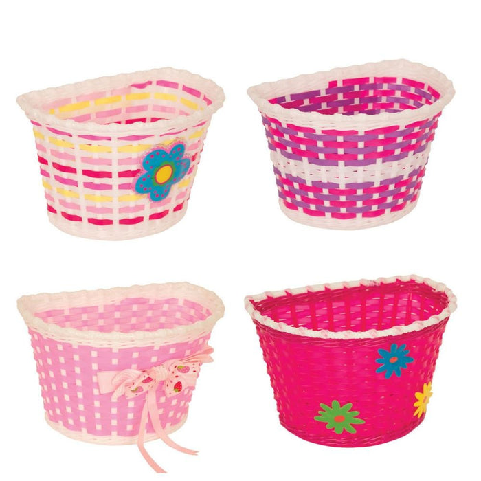 Pacific Kids Bitz Basket Pink | ABC Bikes