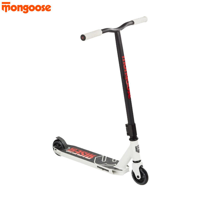 Mongoose Rise 100 Scooter White/Red | ABC Bikes