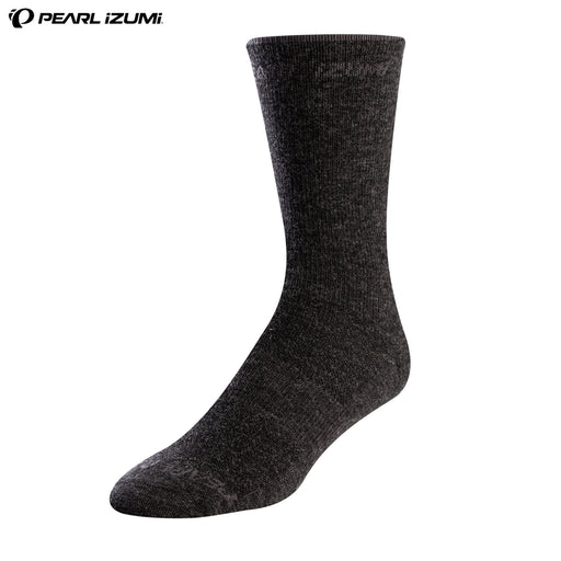Pearl Izumi Elite Tall Merino Wool Socks LG / 41-44 Phantom | ABC Bikes
