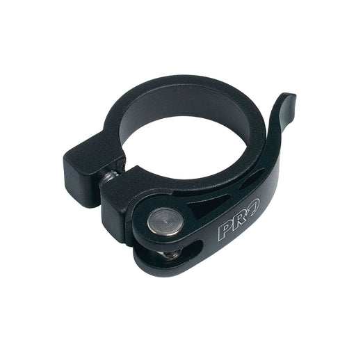 PRO Alloy QR Seatclamp 28.6mm Black | ABC Bikes