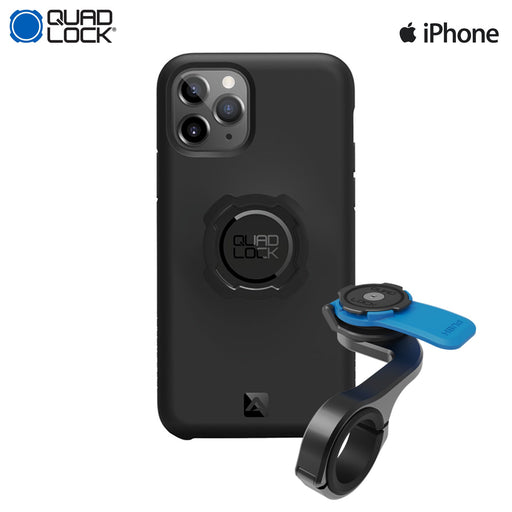 Quad Lock Out Front Pro Mount Combo Apple iPhone 11 Pro Max