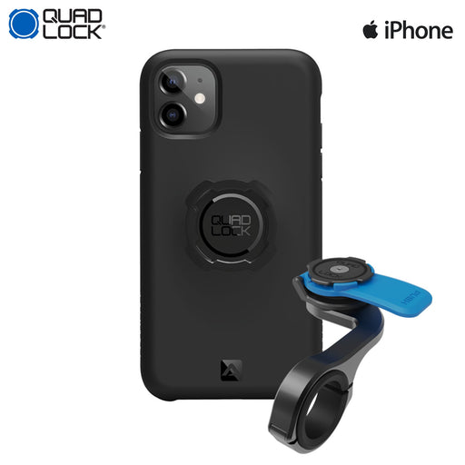Quad Lock Out Front Pro Mount Combo Apple iPhone 11 | ABC Bikes