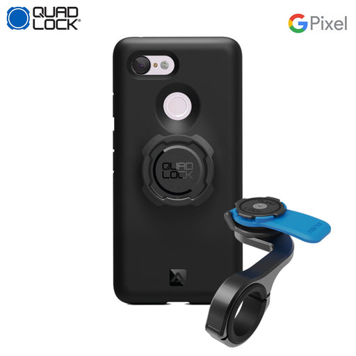 Quad Lock Out Front Pro Mount Combo Google Pixel 3