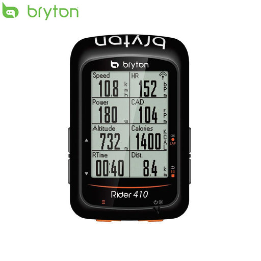Bryton Rider 410 GPS Computer - Head Unit Only