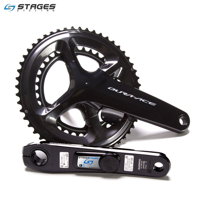 Stages Power LR Shimano Dura-Ace R9100 Power Crank | ABC Bikes