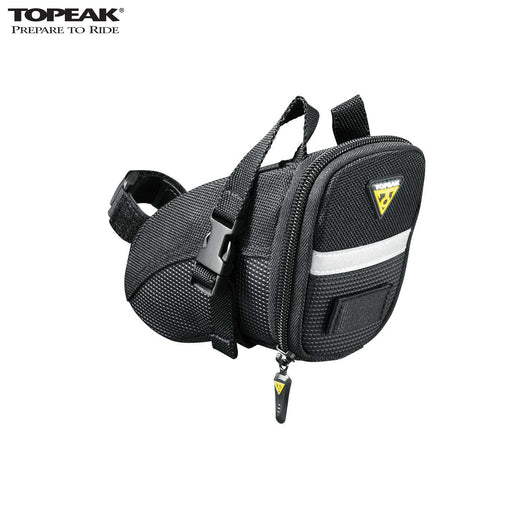 Topeak Aero Wedge Strap Saddle Bag Small Black | ABC Bikes
