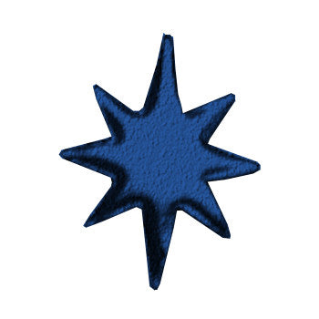 "12"" 8-pointed Star"