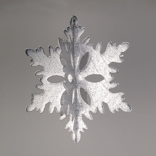3-D Interlocking Snowflake