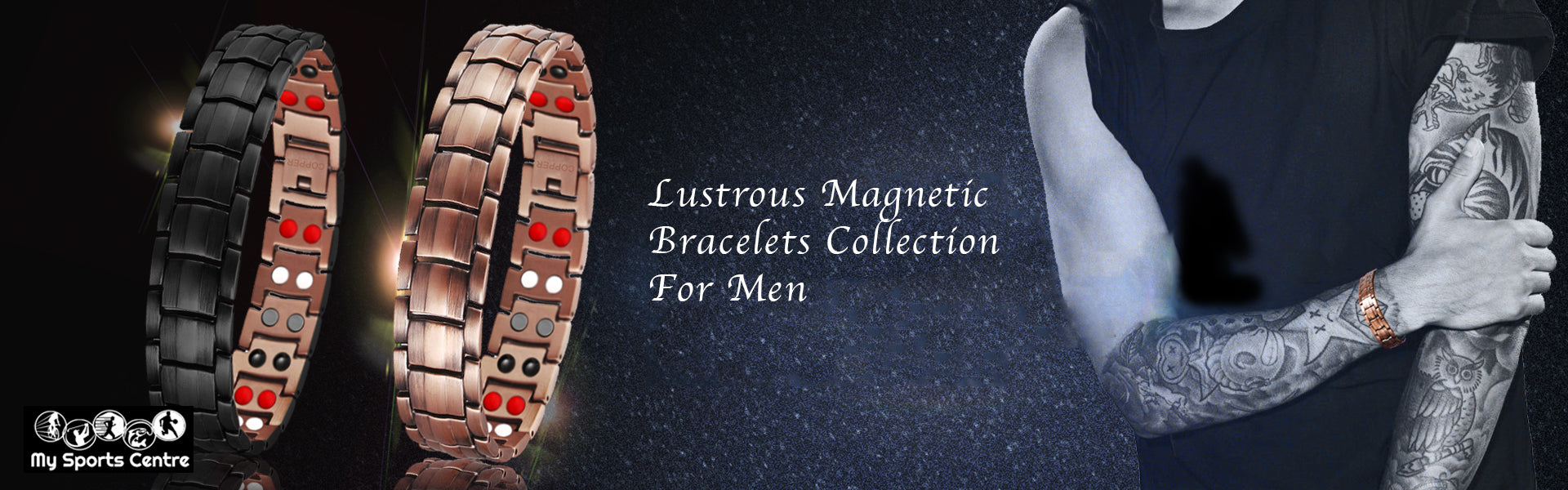 Magnetic Bracelets Collection For Men
