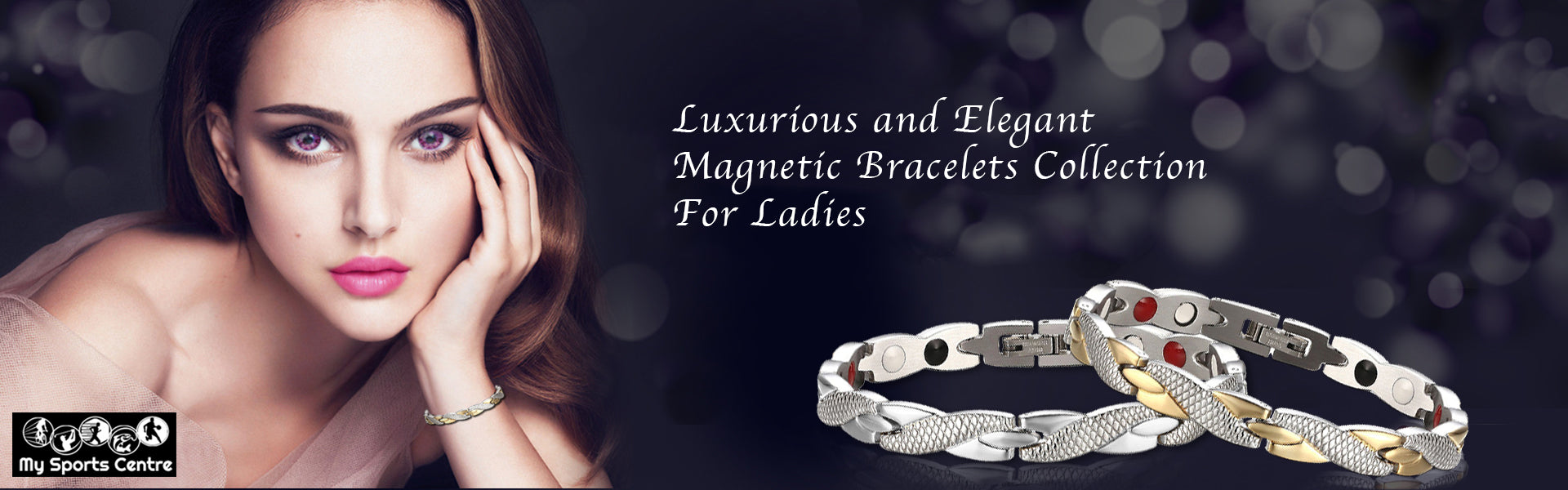 Magnetic Bracelets Collection For Ladies