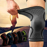 Breathable Elastic Knee Brace for Sports Protections and Pains Relief