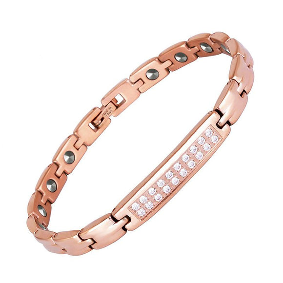 Premium High-grade Pure Germanium Bracelet for Women (SBRM10196)