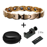 Bio Energy Hematite Healing Magnetic Therapy Bracelet for All (SBRM10085)