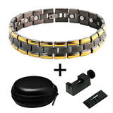 Stylish Bio-Energy Magnetic Therapy Bracelet M1 Series For Men (TMRB034)