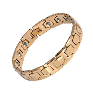 Premium High-grade Pure Germanium Magnetic Bracelet for Men (SBRM10146H)