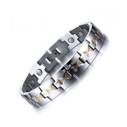 Stylish Bio-Energy Magnetic Therapy Bracelet M1 Series For Men (SBRM078)
