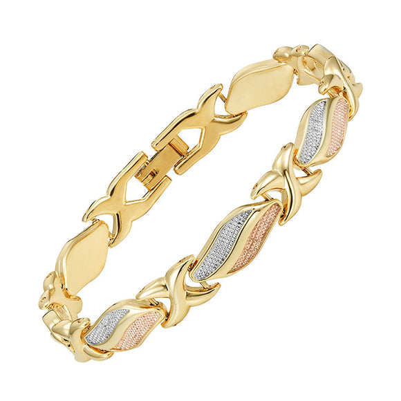 Lovely and Stylish Magnetic Bracelet for Ladies (MBA0204T)