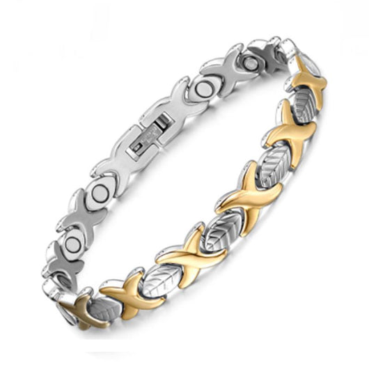 Fashionable Magnetic and Germanium Therapy Bracelet for Women (SBRM047)