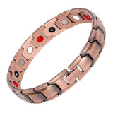 Stylish Pure Copper Magnetic Therapy Bracelet for Men and Women (LF10213)