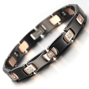 Stylish Bio-Energy Magnetic Therapy Bracelet G3 Series For Men and Women (SBRM820E)