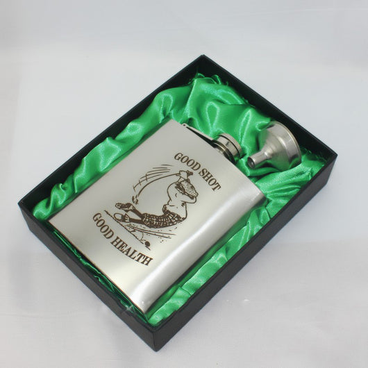 MSC 7oz Awesome Hip Flask Gift Pack