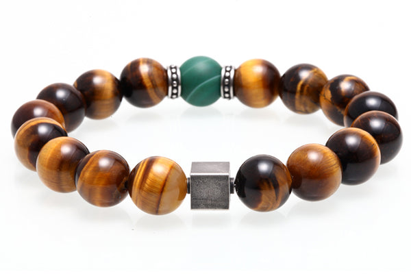 Tiger's Eye Natural Stone Bracelet