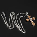 Fashionable Necklace Pendant Cross Style (FJ30039)