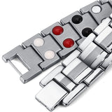Stylish Bio-Energy Magnetic Therapy Bracelet G4 Series For Men (SBRM10202)
