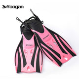 Kids Adjustable Rubber Swimming Fins and Flipper
