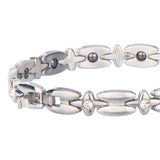 Stylish Bio-Energy Healing Hematite Magnetic Therapy Bracelet for Women (LF10258)