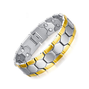 Stylish Bio-Energy Magnetic Therapy Bracelet G2 Series For Men (BR075)