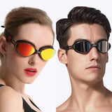 Trendy Professional Multi-color Anti-Fog UV Adjustable Plating Swimming Goggle for Men and Women (CGC3550)