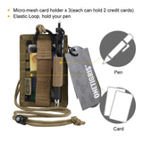 Army Grade Tactical ID Card and Credit Card Organizer