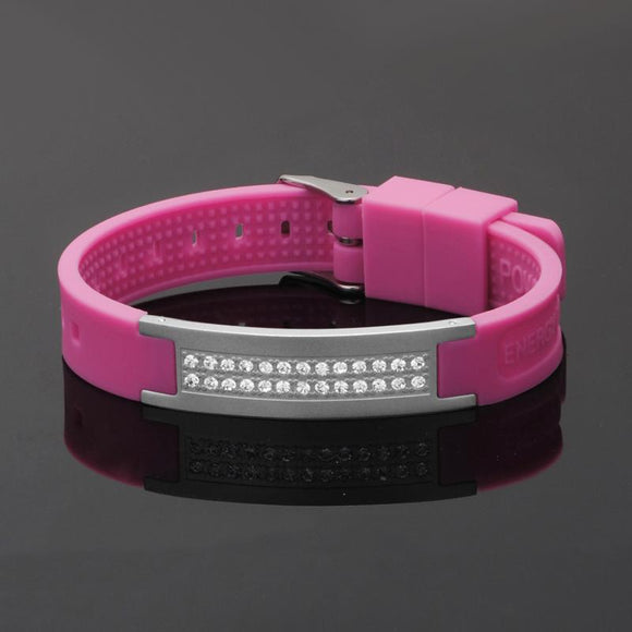 Fashionable Magnetic Negative Ion (IRT) Therapy Bracelet (NIB20004)